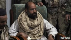 Saif al Islam has been held by militiamen in Libya since November 2011
