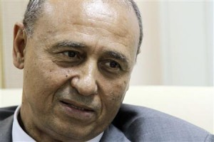 Libyan Deputy Foreign Minister Mohammed Abdel Aziz speaks during an interview with Reuters in Tripoli